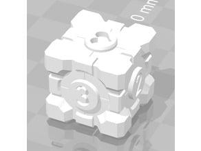 Companion Cube D6 dice