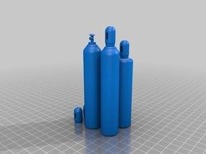 Scale Oxygen Acetylene Torch