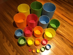 Nesting & Stacking Cups