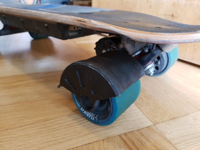 Longboard fender for MONSTER HAWGS