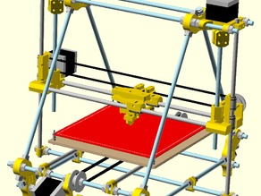 Assembled Prusa IT2 (OpenSCAD)