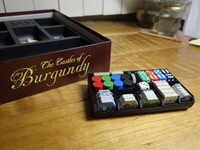 Castles of Burgundy Tile Tray
