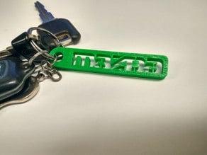 MAZDA key chain
