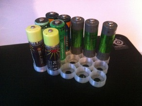 AA & AAA Battery holder