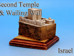 Second Temple & Wailing Wall -Israel-