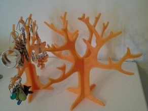 Double Capacity Earring Tree Holder