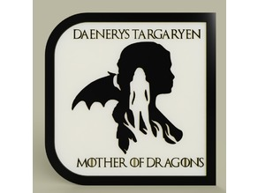 Game of Throne - Daenerys Targaryen - Mother of Dragons