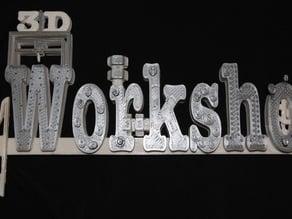 3D Workshop Logo