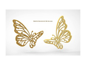 Butterfly Decoration Art
