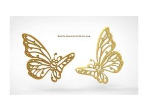 Butterfly Decoration Art