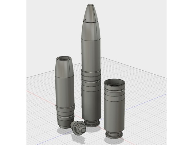 Comments For 30mm Minengeschoss By Refleks Thingiverse