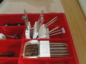 rotary tool bit holder