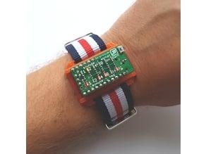 Arduino Binär Uhr Shield, Binary Shield for Mini Pro 168