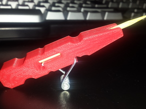 "The Clothespin Pocket Pistol ""3d printed!"""