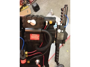 Spirit Halloween Proton Pack V hook