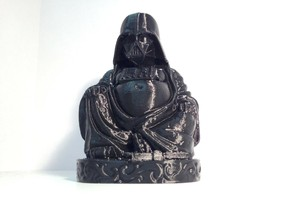 Darth Vader Buddha with saber