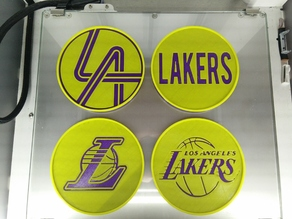 Los Angeles Lakers Coasters (Set of 4)