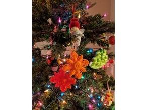 Omega Christmas Ornament