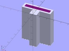 Blade generator for sandpaper handler