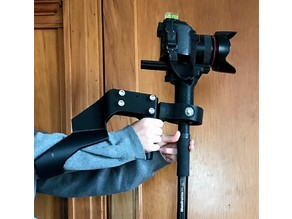 Gimbal Camera  Stabilizer with Arm Brace