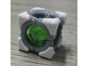 Portal 2 refraction cube (Discouragement Redirection Cube)