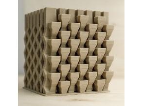 3D printable architectural exhibition model