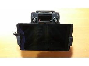 NVidia Shield DJI Mavic tablet holder.