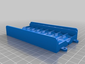 Battery box for 8 AA cells