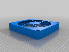 200mm bottom fan enclosure for The First