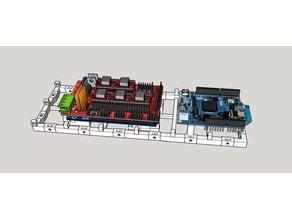 Tilemount / Arduino Mega / Due / RAMPS /CNC shield mount quick release