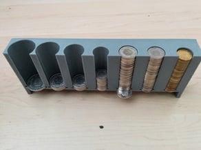 Swiss Franc Coin Holder