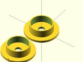 Parametric Filament Spool Bushing