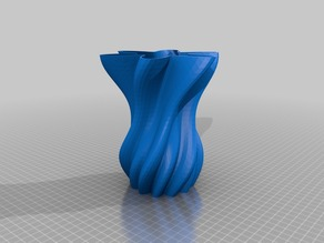 Twisty vases via customizable polar graphs