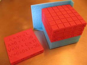 Length, Area, Volume:  Study 1 -- The Cube