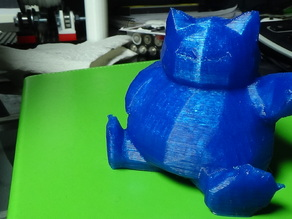 Low Poly Snorlax - Prints without support! v1
