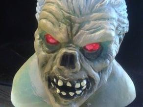 Monster Zombie Halloween Head
