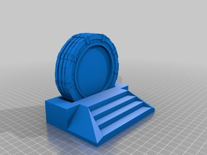 Stargate Coaster Set (Coasters and Holder)