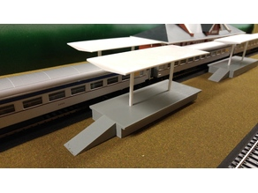 Simple HO scale Platform