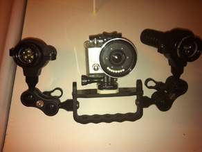GoPro HD Mount with recessed screw hole