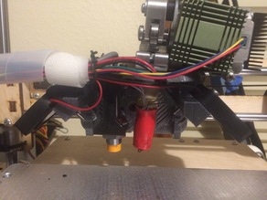 Autolevel / Dual Alu Extruder carriage for printrbot plus