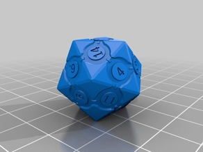 20Sided Companion Dice - Portal