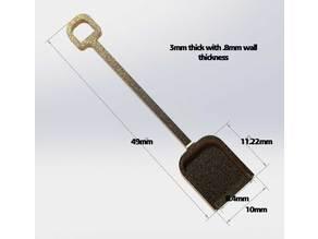 Tiny shovel!