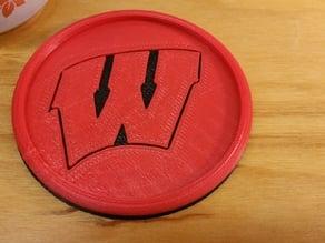 Wisconsin Badgers Coaster