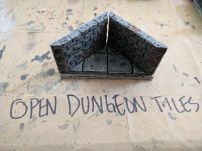 OpenDungeonTiles: Diagonal Interior Roughstone 2x2