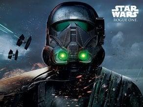 Death Trooper Rogue One Lithophane