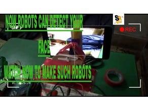 face tracking arduino robot