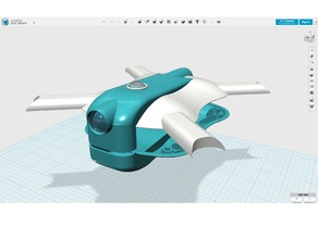 Teal Drone Concept