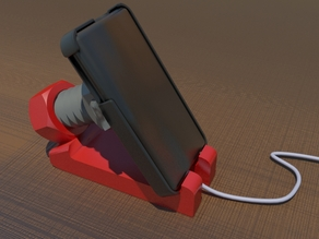 SCREW AND BOLT -Adjustable smartphone holder