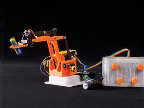 Build Grippy. The Arduino Nano-Driven Robotic Arm - now with Smartphone control
