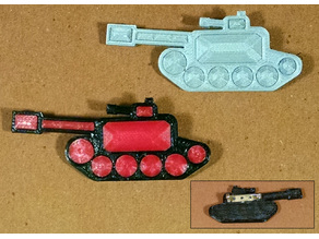 Tank Brooch Encrusted with Fake Jewels